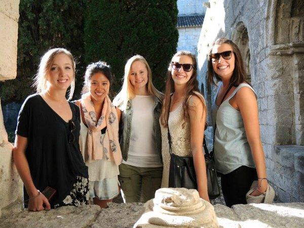 Early Start Program Students visiting Mont Sainte Victoire