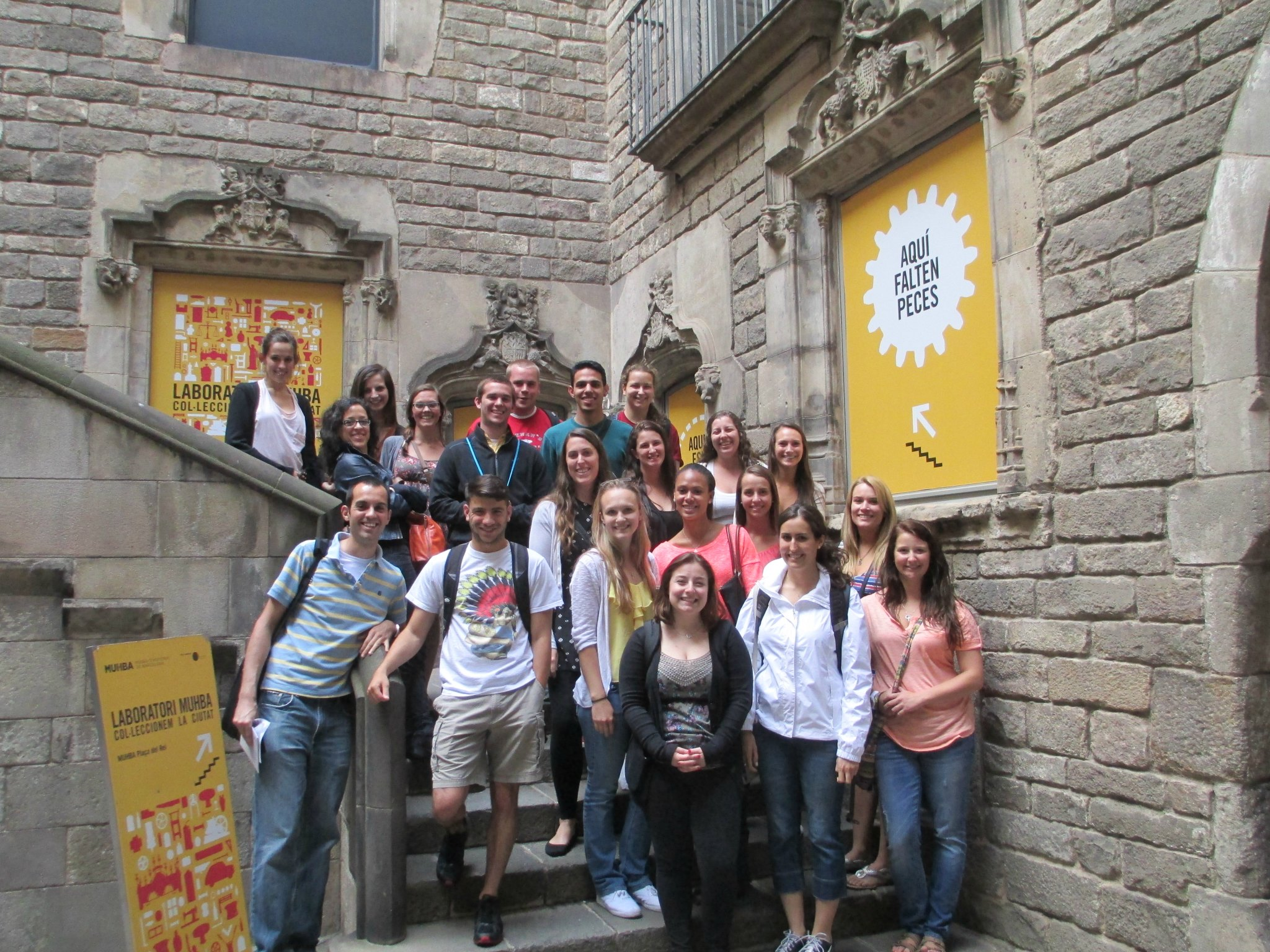 IAU College students in Barcelona, Spain
